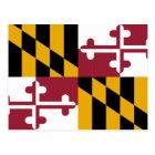 Maryland State Flag Postcard