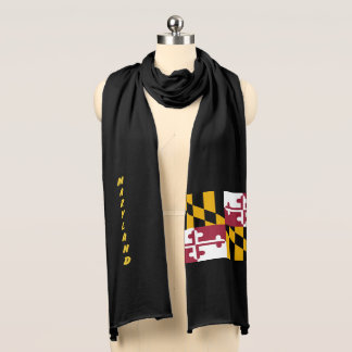 Maryland State Flag Scarf