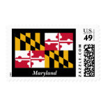 Maryland State Flag Stamps
