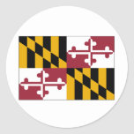 Maryland State Flag Stickers