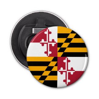 Maryland State Flag Style Decor Bottle Opener