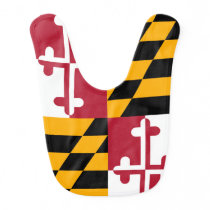 Maryland State Flag Stylish Bib