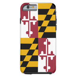 Maryland State Flag Tough iPhone 6 Case