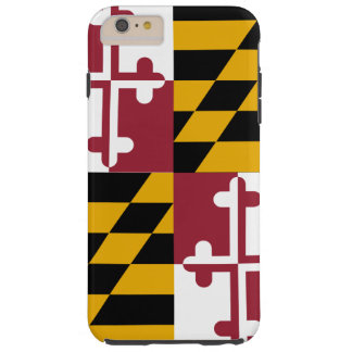 Maryland State Flag Tough iPhone 6 Plus Case