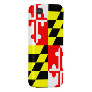 Maryland State Flag - USA iPhone 4 Cases