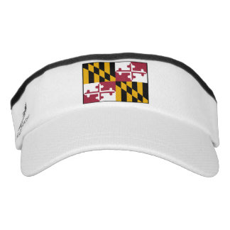Maryland State Flag Visor
