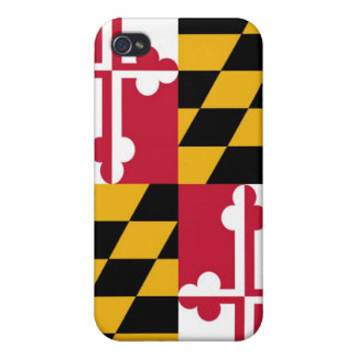 Maryland state flage  cases for iPhone 4