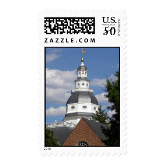 Maryland state house stamp