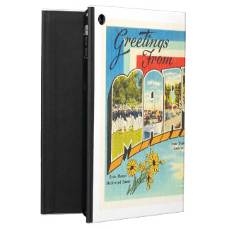 Maryland State MD Old Vintage Travel Postcard- iPad Air Cover