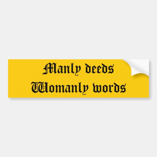 Maryland State Motto Bumper Sticker