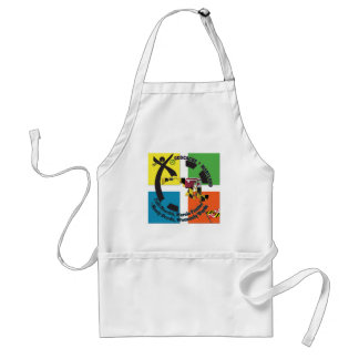 MARYLAND STATE MOTTO GEOCACHER ADULT APRON