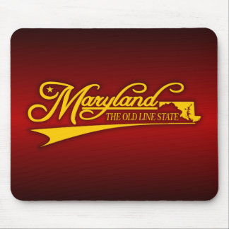 Maryland State of Mine Mouse Pad