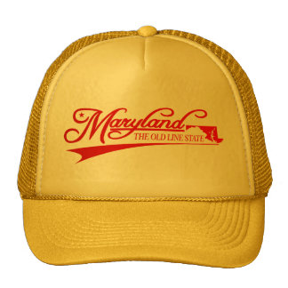 Maryland State of Mine Trucker Hat