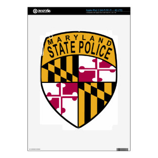 Maryland State Police iPad 3 Decal