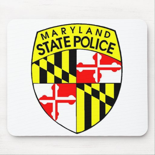 Maryland State Police Mousepad