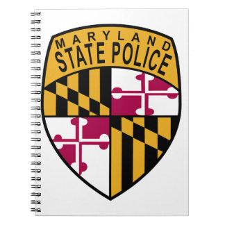 Maryland State Police Spiral Notebook