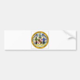 Maryland State Seal Bumper Sticker