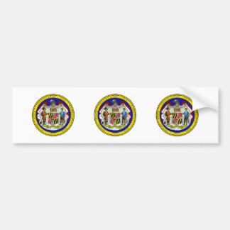 Maryland State Seal Bumper Stickers