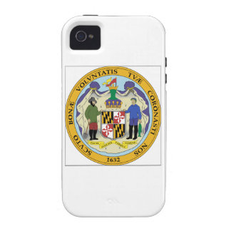 Maryland State Seal iPhone 4/4S Cases