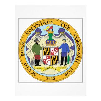 Maryland State Seal Letterhead