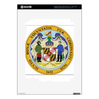 Maryland State Seal iPad 3 Skin