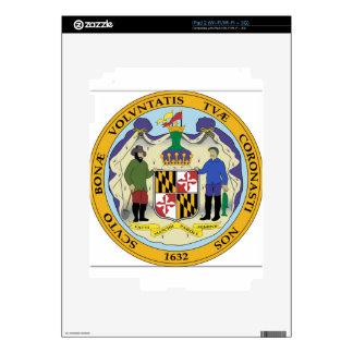 Maryland State Seal iPad 2 Skin