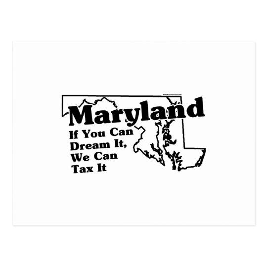 maryland state slogan postcard zazzle com