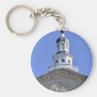 Maryland Statehouse dome Keychain