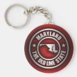 """Maryland Steel 2"" Keychains"