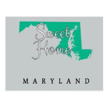 Maryland Sweet Home Maryland Postcard