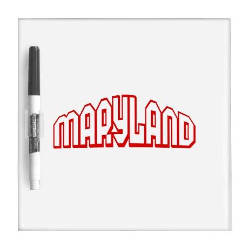 Maryland Tableros Blancos