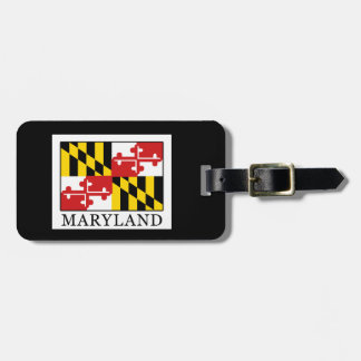 Maryland Tag For Luggage