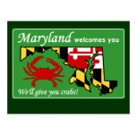 Maryland Tarjeta Postal