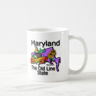 Maryland The Old Line State Bird Coffee Mug
