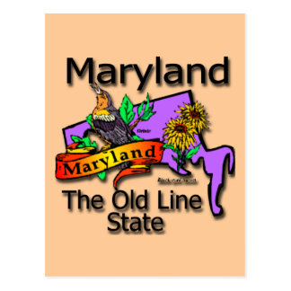 Maryland The Old State Line Bird Postcards