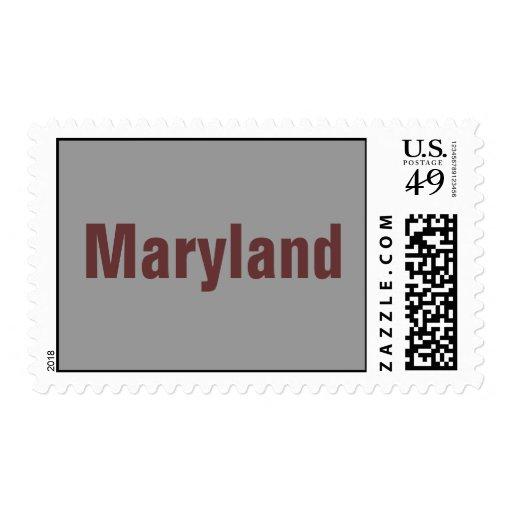 Maryland UNITED STATES POSTAGE STAMP BY WASTELAND