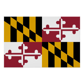 Maryland, United States Poster