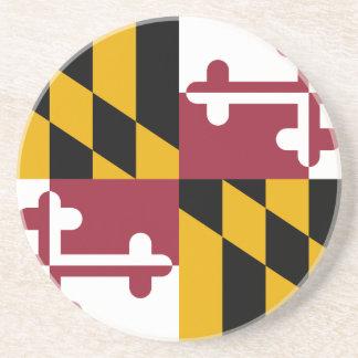 Maryland, United States Sandstone Coaster