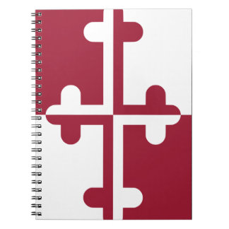 Maryland UnOfficial Crossland Banner Notebook