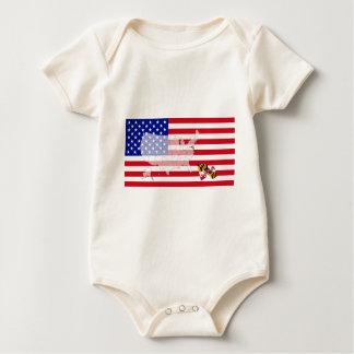 Maryland, USA Baby Bodysuit