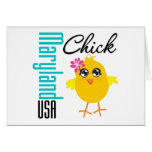 Maryland USA Chick Card