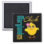 Maryland USA Chick Refrigerator Magnet
