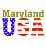 Maryland USA! Postcard