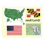 Maryland, USA Postcard