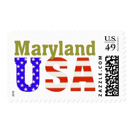 Maryland USA! Stamps