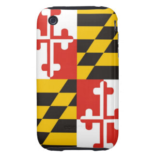 maryland usa state flag case united america iPhone 3 tough cases