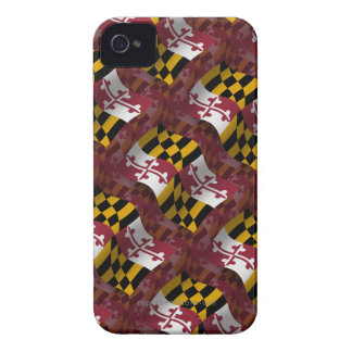 Maryland Waving Flag iPhone 4 Covers