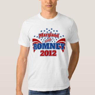 Maryland with Mitt Romney 2012 Shirt