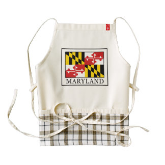 Maryland Zazzle HEART Apron