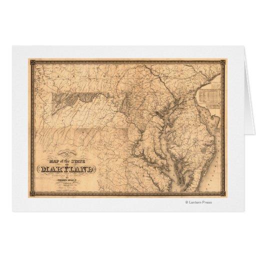MarylandPanoramic MapMaryland Card